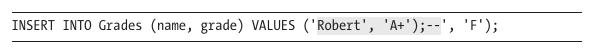 example of shading in code excerpt